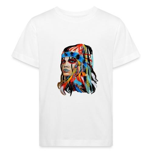 Pióra i pióropusze - Ekologiczna koszulka dziecięca