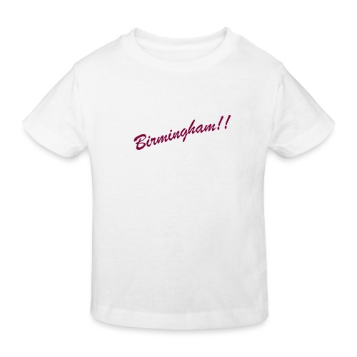 BIRMINGHAM - Kids' Organic T-Shirt