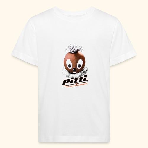 Pittiplatsch 3D Ach, du du meine Nase 3D auf hell - Kinder Bio-T-Shirt