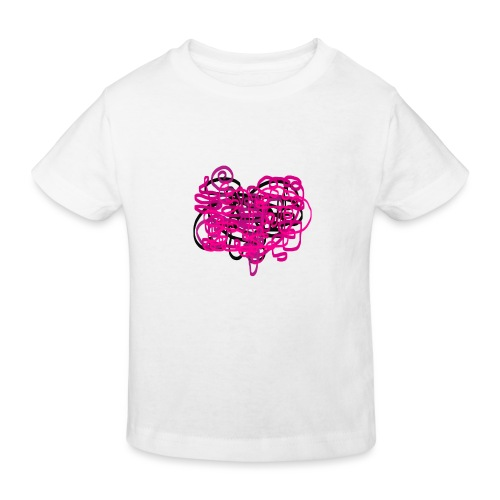 delicious pink - Kids' Organic T-Shirt