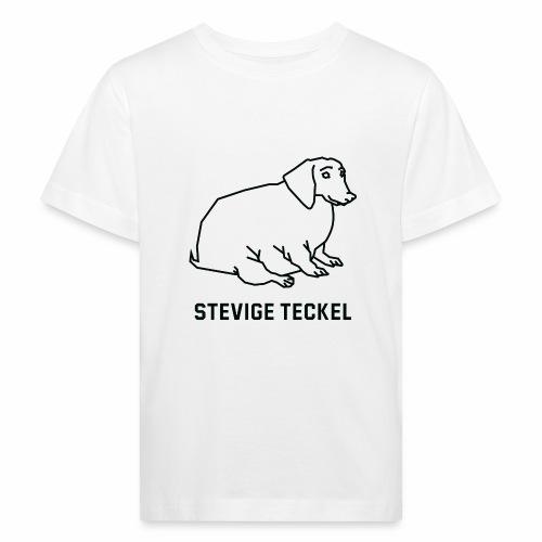 Stevige Teckel - Kinderen Bio-T-shirt