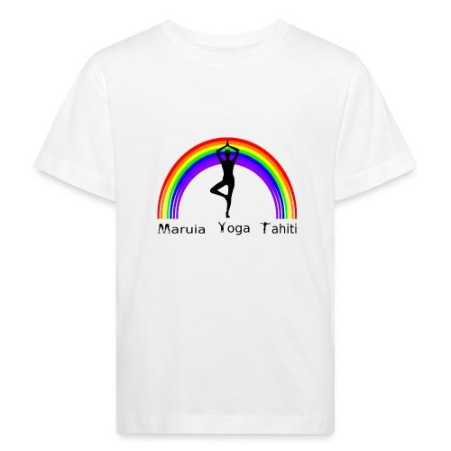 Logo de Maruia Yoga Tahiti - T-shirt bio Enfant