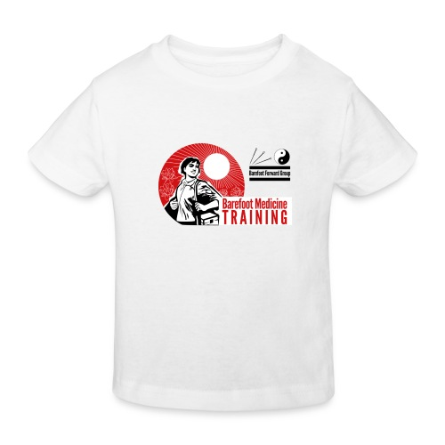 Barefoot Forward Group - Barefoot Medicine - Kids' Organic T-Shirt