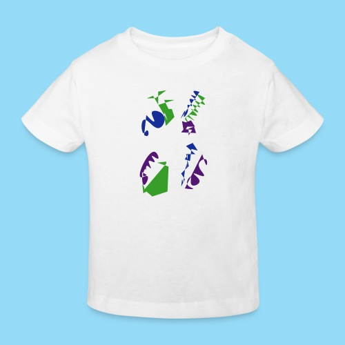 Abstracts & Colours - Kids' Organic T-Shirt