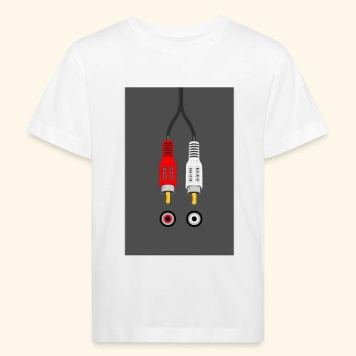 rca cable1 - Maglietta ecologica per bambini