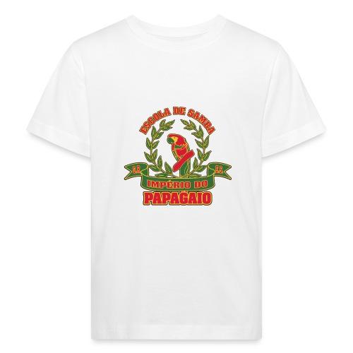 Papagaio logo - Lasten luonnonmukainen t-paita