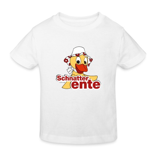 Schnatterinchen Schnatterente - Kinder Bio-T-Shirt
