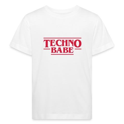 Techno Babe II - Kids' Organic T-Shirt