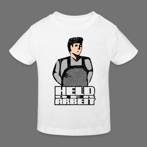 Hero of Labour - Työntekijät Hero (oldstyle) - Lasten luonnonmukainen t-paita