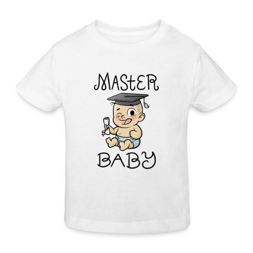 Master Baby - Kinder Bio-T-Shirt