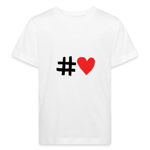 #Love - Organic børne shirt