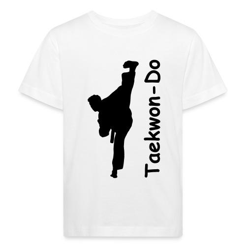 taekwondo kick - Kids' Organic T-Shirt