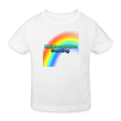 RainbowDave Gaming Logo - Kids' Organic T-Shirt