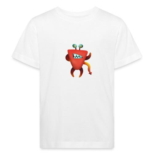Teufelskrabben Monster - Kinder Bio-T-Shirt
