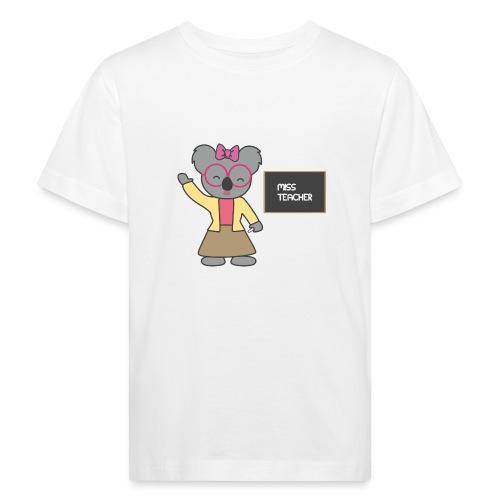 Miss Teacher - Kinder Bio-T-Shirt
