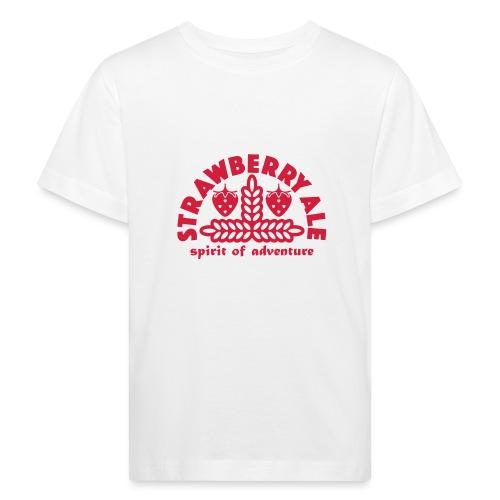Strawberry Ale - Kids' Organic T-Shirt
