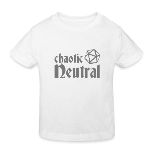 chaotic neutral - Kids' Organic T-Shirt
