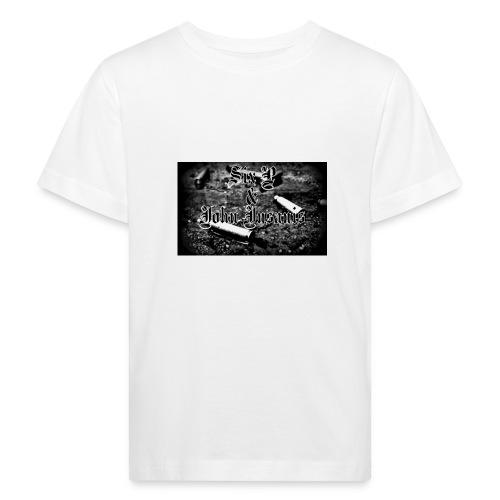 Bullet-Musta Unisex.huppari - Lasten luonnonmukainen t-paita