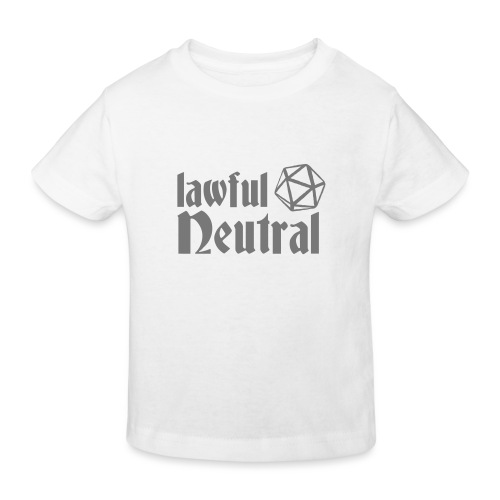 lawful neutral - Kids' Organic T-Shirt