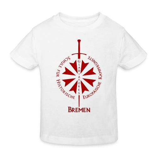 T shirt front HB - Kinder Bio-T-Shirt