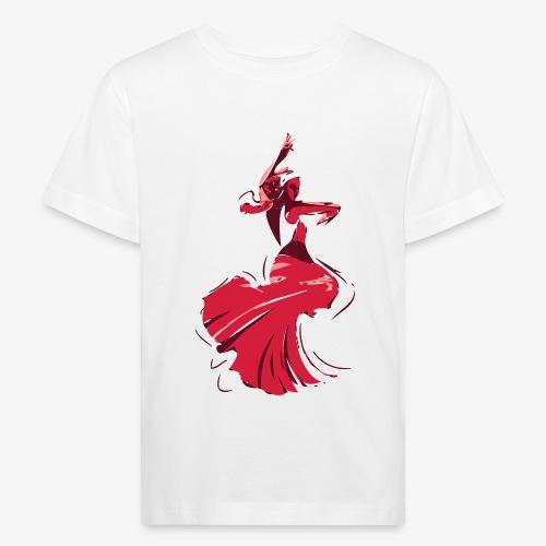 la danseuse de flamenco - T-shirt bio Enfant