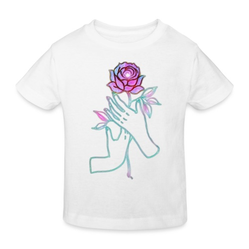 Fiore - Maglietta ecologica per bambini