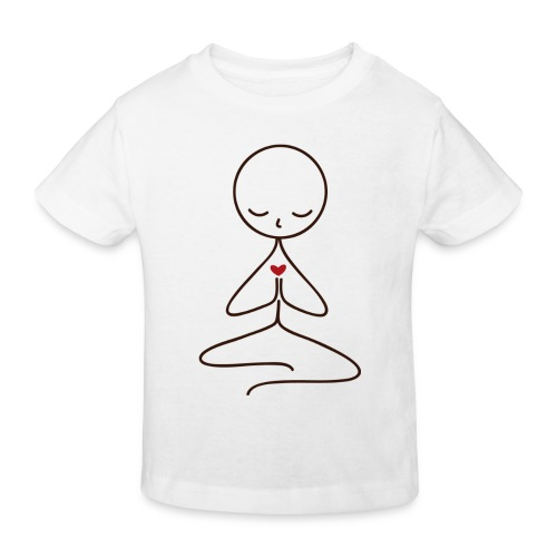 Peace & Love - Ekologisk T-shirt barn
