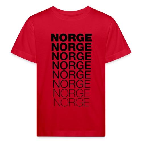 Norge Norge Norge Norge Norge Norge - Økologisk T-skjorte for barn