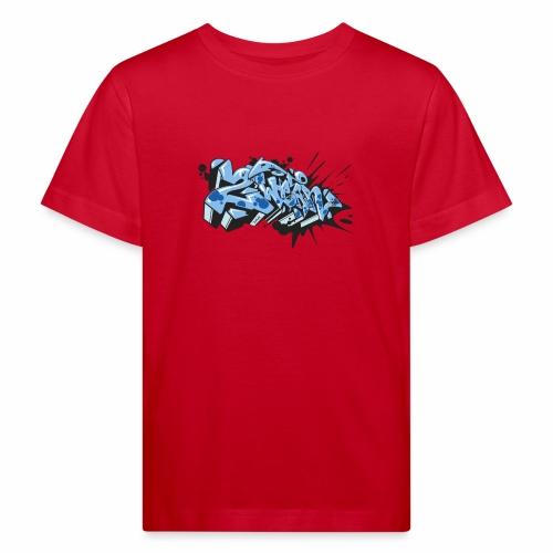 Dae 2wear Style #1 blue edt - Organic børne shirt