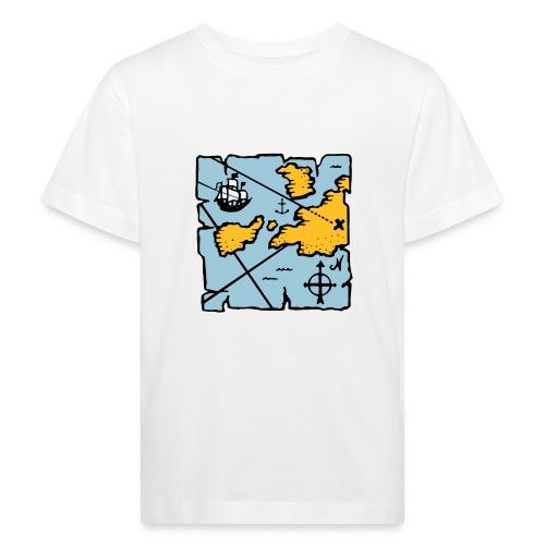 Pirate treasure map - T-shirt bio Enfant