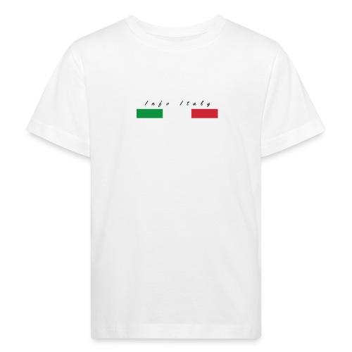 Info Italy Design - Maglietta ecologica per bambini