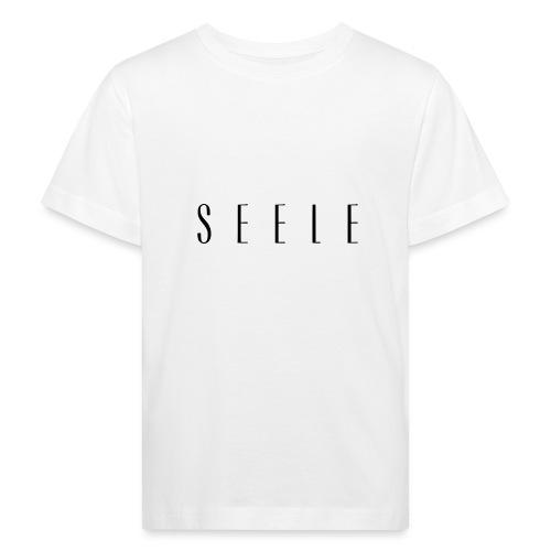 SEELE - Text Cap - Lasten luonnonmukainen t-paita