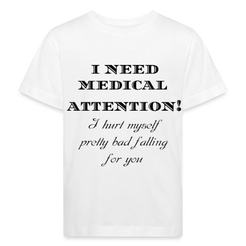 Attention - Lasten luonnonmukainen t-paita