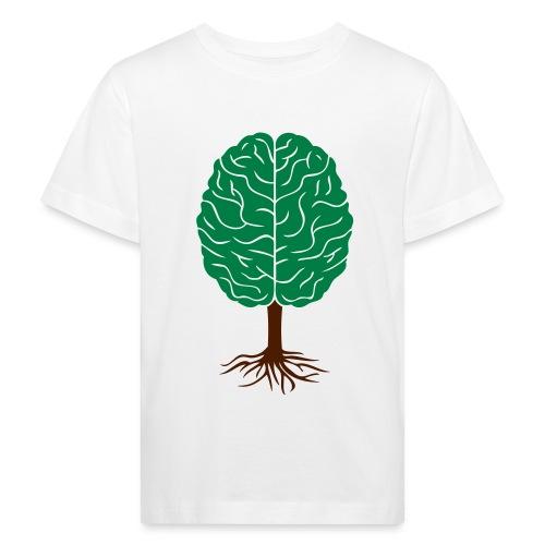 Brain tree - Kinderen Bio-T-shirt