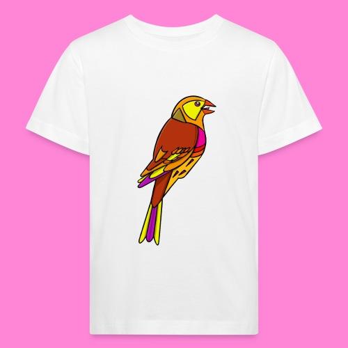 Geelgors illustratie - Kinderen Bio-T-shirt