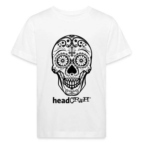 Skull & Logo black - Kinder Bio-T-Shirt