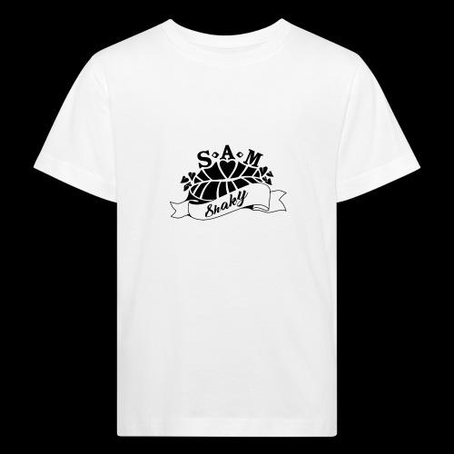 SamShaky - Lasten luonnonmukainen t-paita