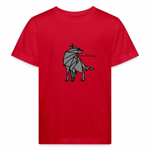 loup l'hiver vient - T-shirt bio Enfant