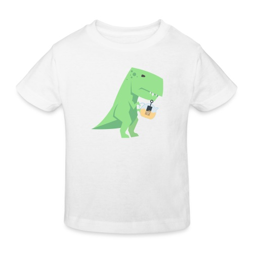 Tea-Saurus - Kinder Bio-T-Shirt