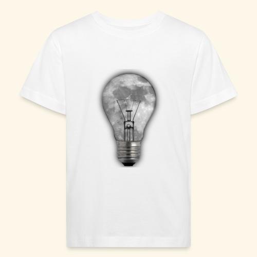 moon bulb - Camiseta ecológica niño
