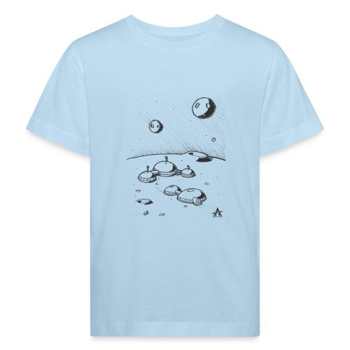 Moonbase Sketch ligne - T-shirt bio Enfant