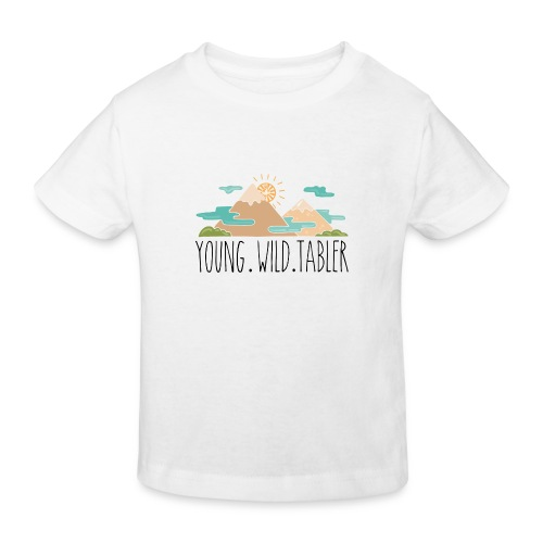 young.wild.tabler - Kinder Bio-T-Shirt