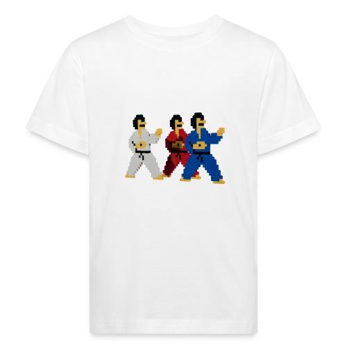 8 bit trip ninjas 1 - Kids' Organic T-Shirt