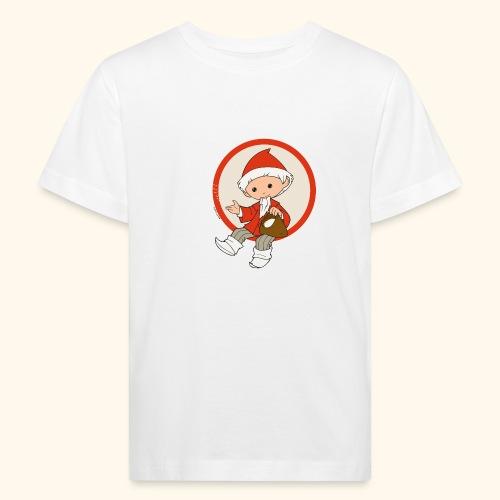 Sandmännchen streut Sand - Kinder Bio-T-Shirt
