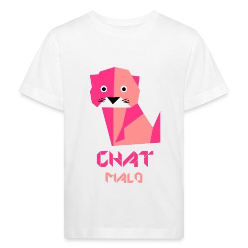 Chat Malo - T-shirt bio Enfant