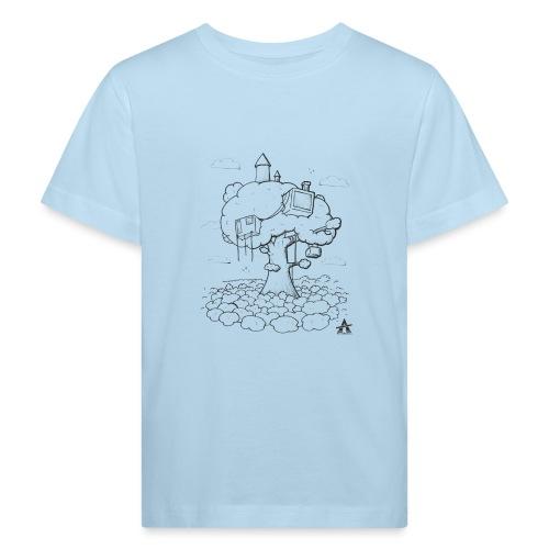 Cabane dans un arbre Sketch Line - T-shirt bio Enfant