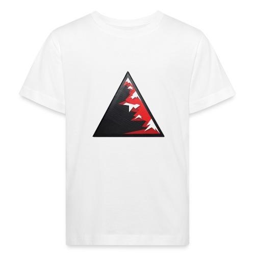 Climb high as a mountains to achieve high - Kids' Organic T-Shirt