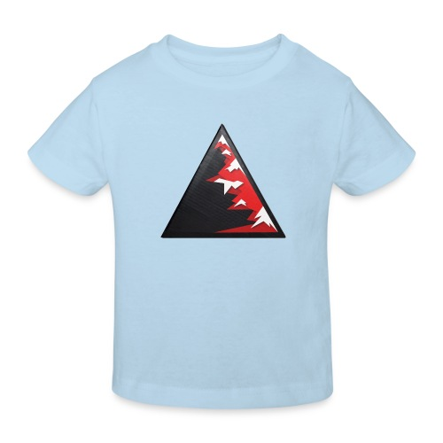 Climb high as a mountains to achieve high - Kids' Organic T-Shirt