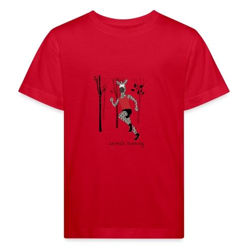 Zèbre running - T-shirt bio Enfant