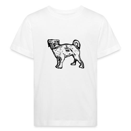 Pug Dog - Kids' Organic T-Shirt